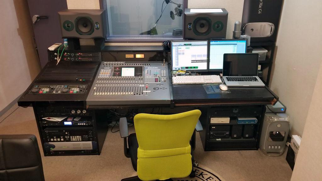 Nstudio コントロールルーム
